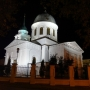 Sobór św. Mikołaja Cudotwórcy nocą.