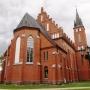 Kościół w Krzesku, ze zbioru Jana Aleksandrowicza.