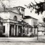 Dwór w Krzesku,foto z 1961r, ze zbioru Jana Aleksandrowicza.