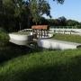 Kanał Augustowski - zastawa ulgi nadmiaru wody do rzeki Netta