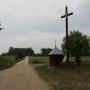 Czarny Las - Kapliczka i krzyż przydrożny