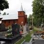 Jaminy - cmentarz i zabytkowy kościół
