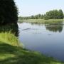 Kanał Augustowski - Śluza Kudrynki, widok kanału