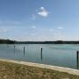 Jezioro Białe Augustowskie - widok ze Śluzy Przewięź