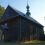Zabytkowy kościół drewniany