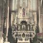 Ołtarz Matki Boskiej Częstochowskiej z obrazem przywiezionym przez wiernych z Jasnej Góry w 1906roku. Ze zbiorów Jana Murawiejskiego