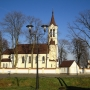 Kościół par. p.w. św. Anny z 1882 roku.