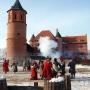 O dwóch lat zamek stał się tłem do zainscenizowania wydarzenia jakie miało miejsce 27 stycznia 1657 roku. Wówczas to po przeprowadzonym szturmie odbito z rąk Radziwiłłów, sprzyjających Szwedom, zamek tykociński. Tą inscenizację mogliśmy oglądać 01.02.2014 r.