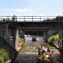Zabytkowy most nad Kanałem Augustowskim