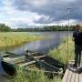 Jedyny pomost na jeziorze Szlamy