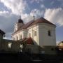 Kościół pw św. Jana Chrzciciela i św. Szczepana Męczennika.