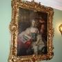 Portret Izabelli Branickiej z domu Poniatowska- żony Jana Klemensa .