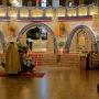 Wnętrze świątyni.