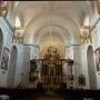 Główny ołtarz z cudownym Obrazem Matki Bożej Różańcowej.