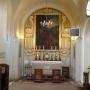 Boczny (prawy) ołtarz św. Jana Chrzciciela.