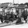 Rok 1945 - 47 ruiny budynku dawnej Loży masońskiej.