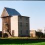 Sawice Bronisze - wiatrak koźlak przebudowany na młyn el.