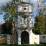 Siennica - dzwonnica przy kościele.