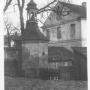 Widok od strony starego kościoła pw.Wniebowzięcia NMP.
