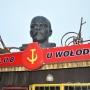 Dumnie patrzący Lenin- patron oryginalnego muzeum.