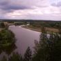 Malownicze zakole rzeki Bug w okolicy wsi Gnojno
