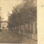 Widok z Pałacyku Gościnnego w głąb ulicy Deutsche Strasse obecnie Kilińskiego. Ze zbiorów Muzeum Historycznego w Białymstoku.