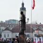 Co roku 11 listopada wokół pomnika Piłsudskiego gromadzą się białostoczanie aby uczcić to ważne historyczne wydarzenie.