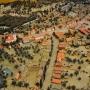 Na tym ujęciu widzimy Rynek Miejski od strony obecnej ulicy Sienkiewicza (w XVIII wieku nazywano ją Wasilkowską z racji kierunku na Wasilków)