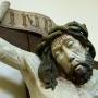Krzyż z Pasją Chrystusa z ok.1479r. Fragment.