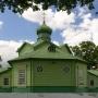 Spojrzenie na cerkiew od