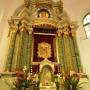 cudowny obraz Matki Bożej Studzieniczańskiej wewnątrz kaplicy.