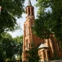 Konstantynów - zabytkowy kościół par. p.w. św. Elżbiety