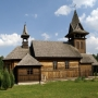 Uroczysko Zaborek - zabytkowy kościół