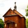 Krzyczew - Zabytkowa cerkiew unicka, ob. kaplica rzym.-kat. p.w. św. Jerzego