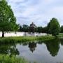 Pieczołowicie odtworzony Pawilon pod Orłem z początku XVIIIw jest ciekawym elementem architektonicznym, wkomponowanym w zewnętrzną część ogrodu barokowego.