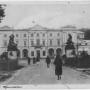 Pocztówka - siedziba Urzędu Wojewódzkiego w okresie międzywojennym.