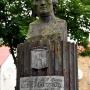 Popiersie Joachima Chreptowicza- kanclerza Litewskiego początkowo ustawione na dziedzińcu zakładów metalowych w Cisowej, po likwidacji huty przewiezione do Sztabina i umieszczone w obecnym miejscu.