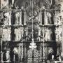 Bogato zdobiony ikonostas powstały w latach 1640-1643 przez gdańskiego snycerza i złotnika Andrzeja Modzelewskiego niestety został całkowicie zniszczony przez sowieckich żołnierzy w 1941r. Zdjęcie z reprodukcji zrobione dzięki uprzejmości Duszpasterzy z Monasteru.