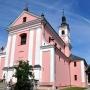 Kościół pw. Niepokalanego Poczęcia NMP powstawał w latach 1694-1745.
