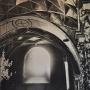 W przedsionku cerkwi, pod emporą chórową widzimy piękne sklepienie kryształowe. Te gotyckie elementy będące zachodnimi wpływami, uzupełniały tą wspaniałą centralną budowlę, charakterystyczną dla wschodu. Zdjęcie zrobione dzięki uprzejmości Duszpasterzy z Monasteru.