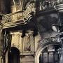 Wnętrze monasteru około 1915 roku. Widok na chór. Zdjęcie z reprodukcji zrobione dzięki uprzejmości Duszpasterzy z Monasteru.