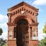 Kaplica na cmentarzu rzym.- kat.