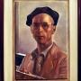 Autoportret Ludomira Sleńdzińskiego z 1944 roku.