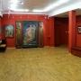 Wnętrze Galerii wypełnione działami rodziny Sleńdzińskich. Zdjęcie Galeria Sleńdzińskich.