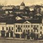 Pocztówka sprzed 1915 roku wykonana ze zdjęcia zamieszczonego obok.Ze zbiorów J. Murawiejskiego