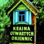 Kraina Otwartych Okiennic. Drewniana architektura.