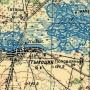 Fragment mapy z 1940 r.